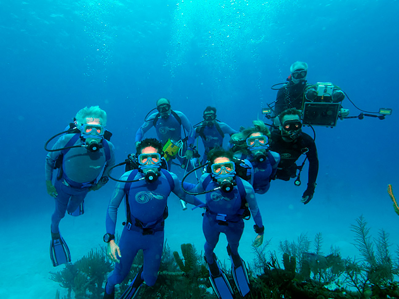 Underwater Filming Team